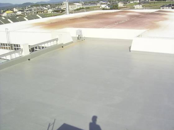 塩ビシート防水絶縁工法
